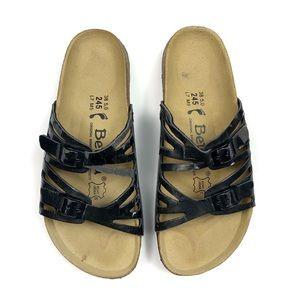 Birkenstock Betula Black Granada Two Strap Sandals